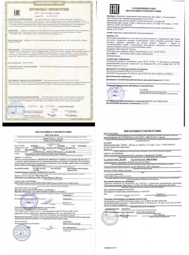 сертификат на химчистку автокресел