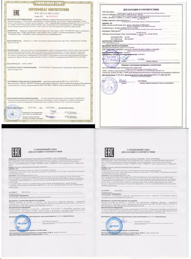официальный сертификат химчистки